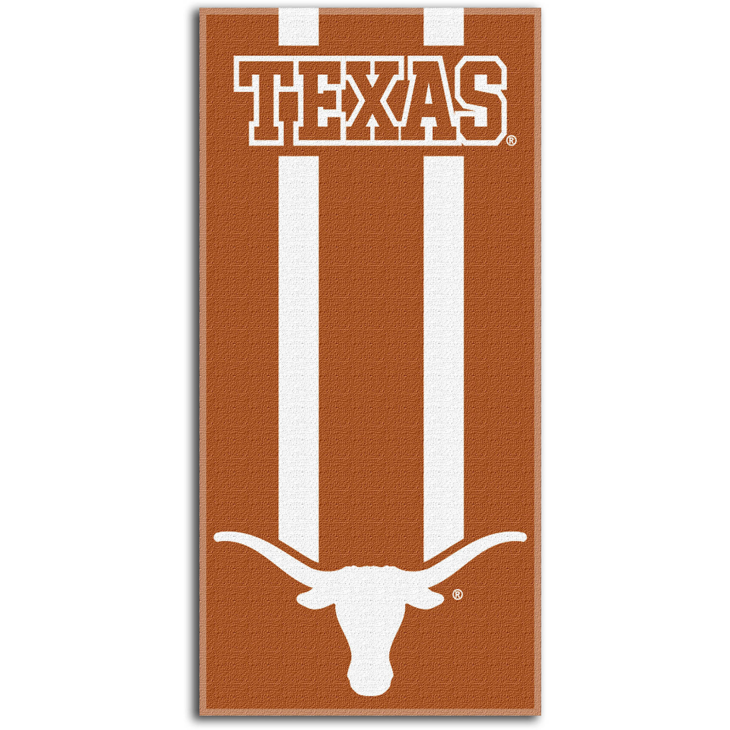 "NCAA Texas Longhorns ""Zone Read"" 30"" x 60"" Beach Towel"
