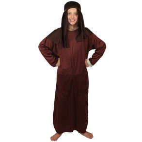 Childs Small Brown Nativity Gown (Nativity Costume Ideas)