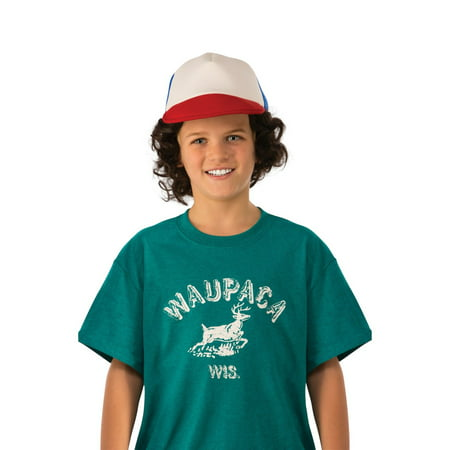 Halloween Stranger Things Kids Dustin's Waupaca Shirt (Top 10 Things To Be For Halloween)