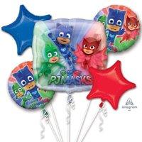 PJ Masks Character Authentic Licensed Theme Foil Balloon Bouquet