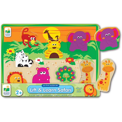 The Learning Journey My First Lift and Learn Safari Puzzle