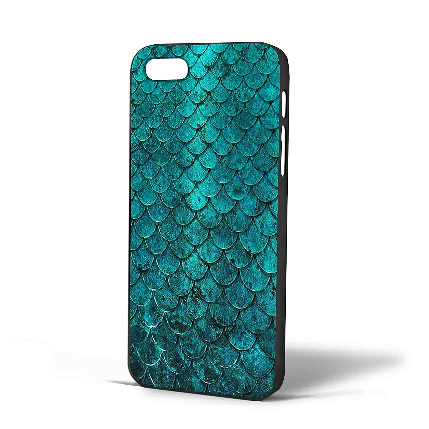 Ganma mermaid tail texture Case For iPhone Case (Case For iPhone 5c White)