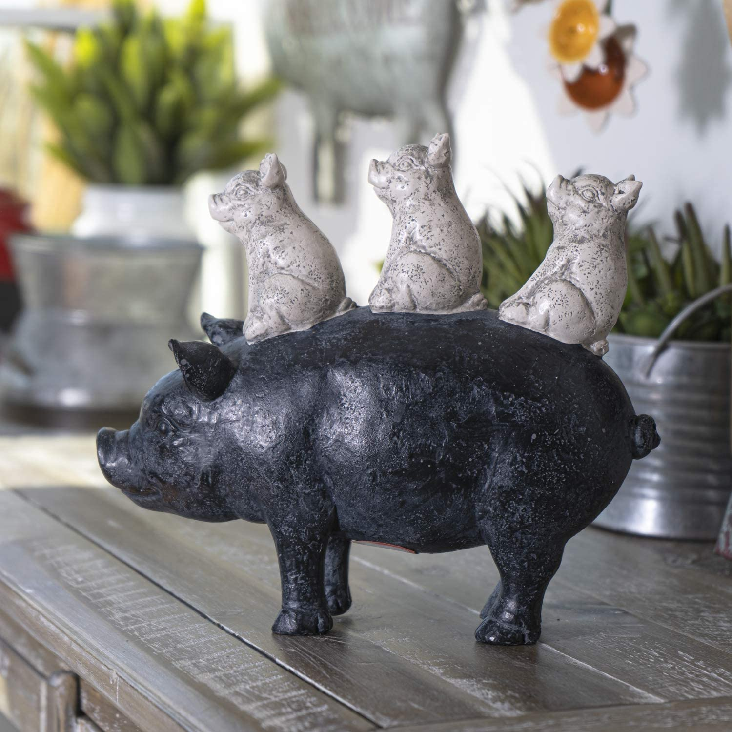 Summit Collection Rustic Decor Barnyard Designs Stacked Piglets On Mother Pig Figurine 8 5 Inches Tall Kitchen Dining Room Farmhouse Decor Walmart Com Walmart Com