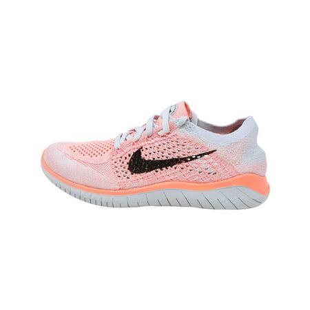 buy online 4e829 11db7 Nike Women's Free Rn Flyknit 2018 Crimson Pulse / Black Ankle-High Running  Shoe - 6.5M