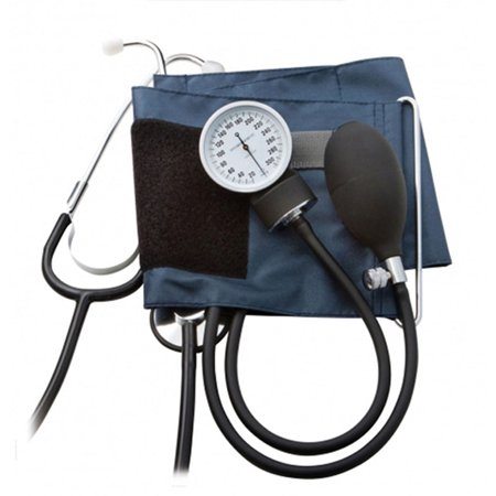 ADC 790-12XN PROSPHYG Adult Large Navy Blood Pressure Kit, Latex Free