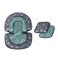 JJ Cole Head Support & Strap Cover Bundle, Star