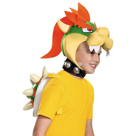 Super Mario Bros Bowser Costume Kit - Mario Costume Boys