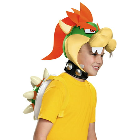 Super Mario Bros Bowser Costume Kit - Kids Bowser Costume