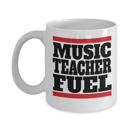 Music Teacher Fuel Coffee & Tea Mug Gift Ideas Supplies](Halloween Teacher Gift Ideas)