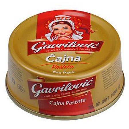 Tea Pork Pate (Gavrilovic) (3.53oz)100g Can