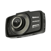 PAPAGO! GoSafe 550 Super HD 1296p Ultra Wide Angle 160 ° Dash Cam Driving Safety Features Free 8GB Micro SD Card & Adpater