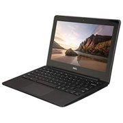 DELL CHROMEBOOK 11, CELERON 2955U, 1.4 GHZ, 4GB, SSD 16GB, 11.6W, BLUETOOTH, CHROME OS, WEBCAM (Refurbished), 1 Year Warranty