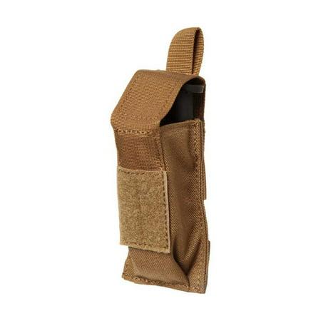 BLACKHAWK! Single Pistol Mag Pouch 37CL08CT W/TALONFLEX - COYOTE TAN