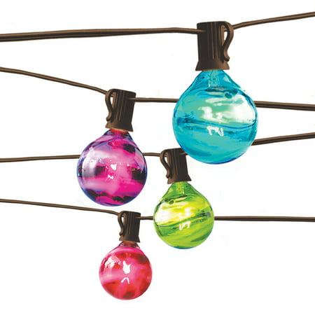 Better Homes and Gardens Outdoor Marble Globe String Light Set  Walmart.com