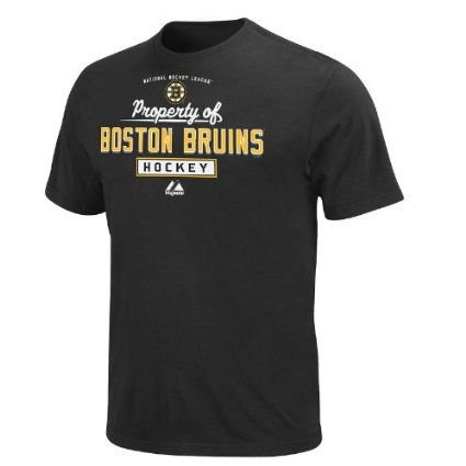 Boston Bruins Youth Black Property Of T Shirt  Youth M
