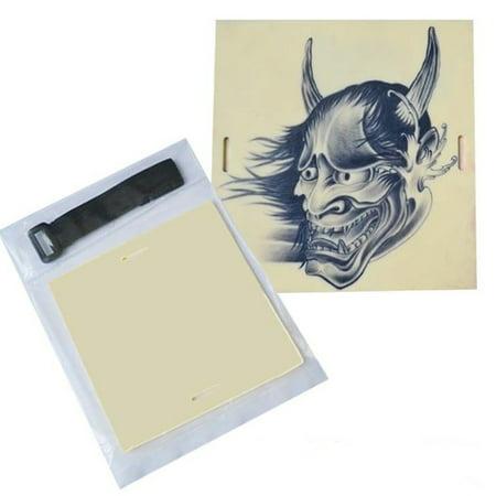 20x15cm Blank Tattoo Practice Skin Sheet For Permanent Makeup Eyebrow Lips Needle Machine