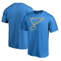 St. Louis Blues Fanatics Branded Team Alternate T-Shirt - Blue