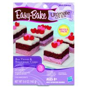 Easy-Bake Ultimate Oven Red Velvet & Strawberry Cakes Refill Pack