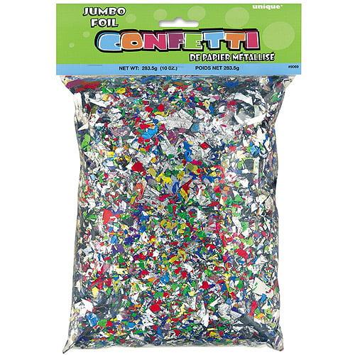 Foil Confetti, Multicolor, 10 oz