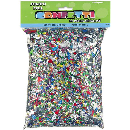 Foil Confetti, Multicolor, 10oz](Biodegradable Confetti)