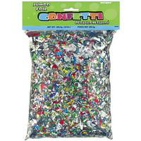 Foil Confetti, Multicolor, 10oz