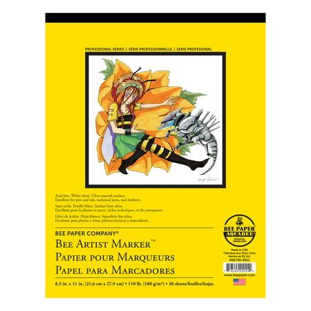 Bee Paper Artist Marker Pad 8.5