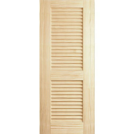 Kimberly Bay Solid Wood Louvered Slab Interior Door