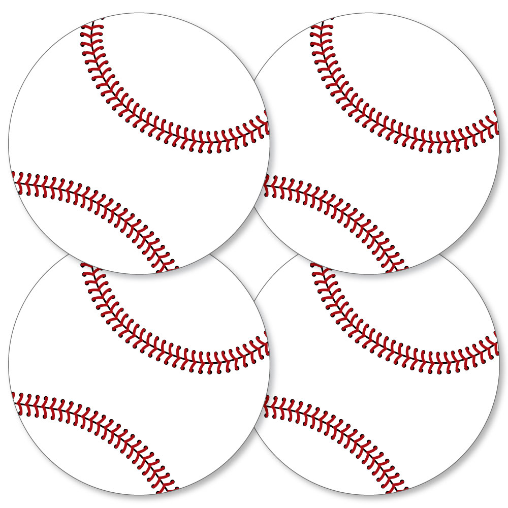 Batter Up - Baseball - Decorations DIY Baby Shower or Birthday Party Essentials - Set of 20