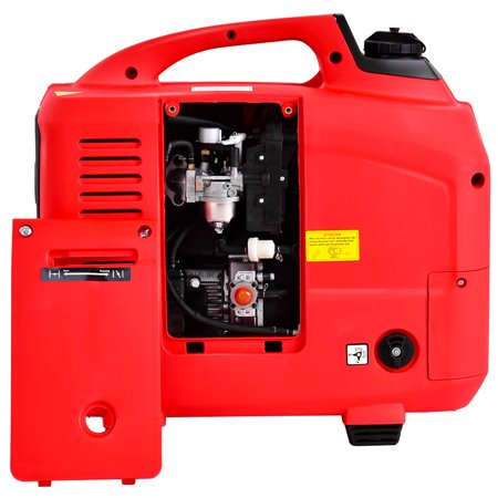 Portable 2750W Digital Inverter Generator 4 Stroke 125cc Single Cylinder Red - image 5 of 10