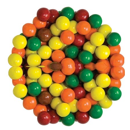 Sixlets Multi Colored Chocolate Candy, 12 Pounds](Colored Candy)