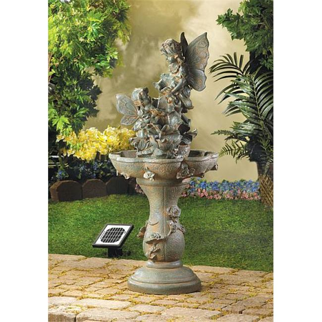 DSPS 12842393888 Beautiful Fairies Solar Fountain