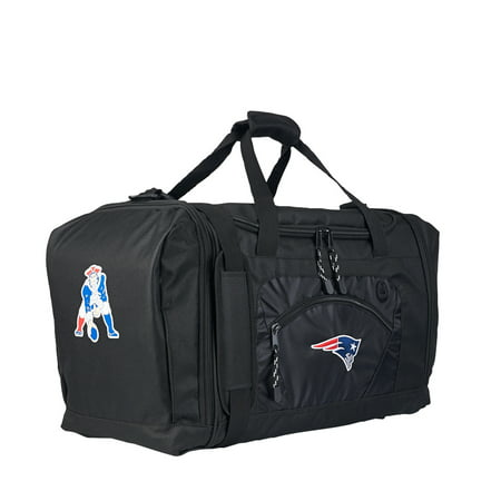 "Rtl Bag - NFL New England Patriots ""Roadblock"" 20""L x 11.5""W x 13""H Duffel Bag"