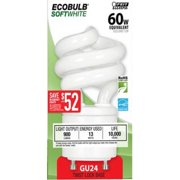 Feit Electric BPESL13T-G 13 & 60 Watt Mini Twist Lock Compact Fluorescent Lamp Light Bulb