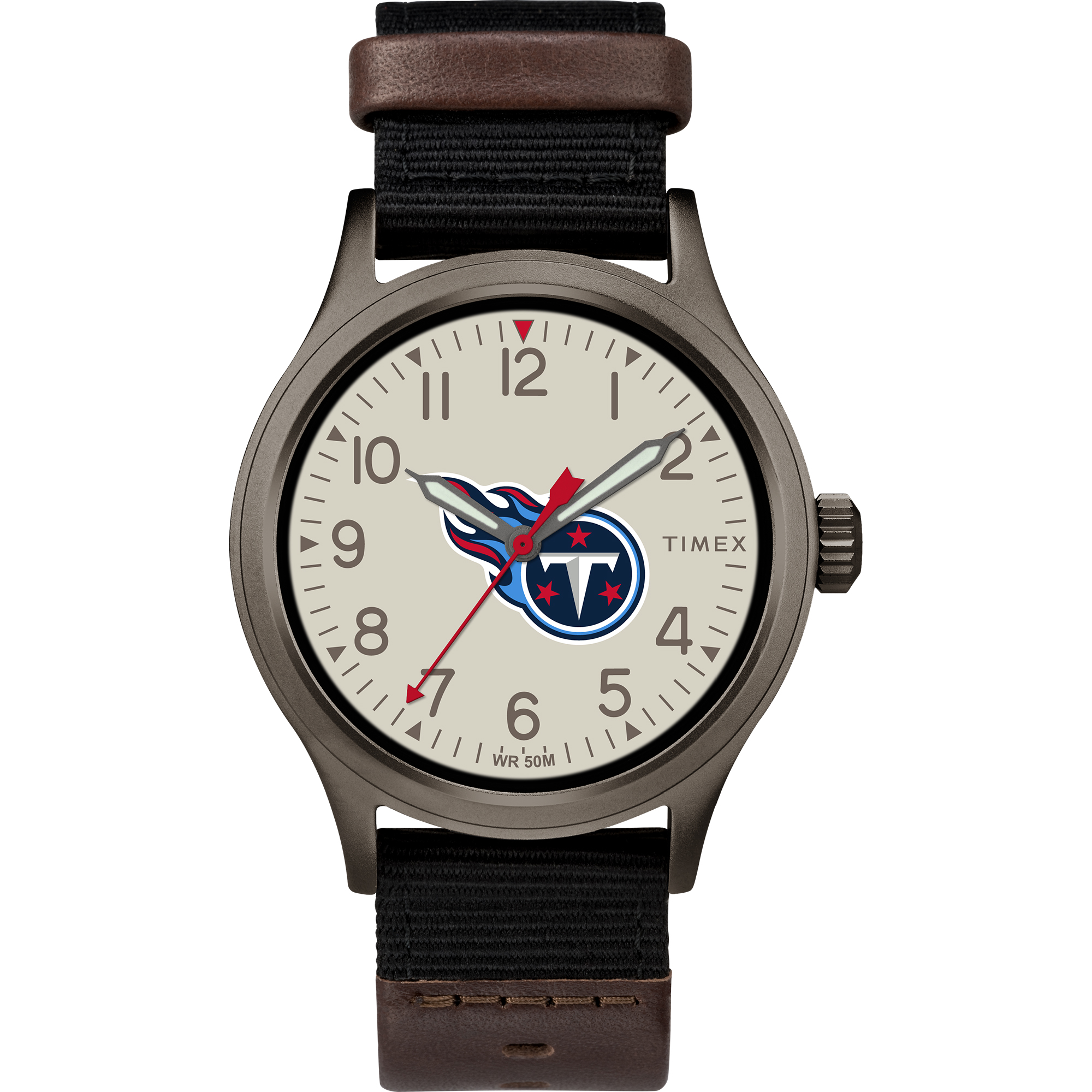 Timex - NFL Tribute Collection Clutch Men's Watch, Tennessee Titans