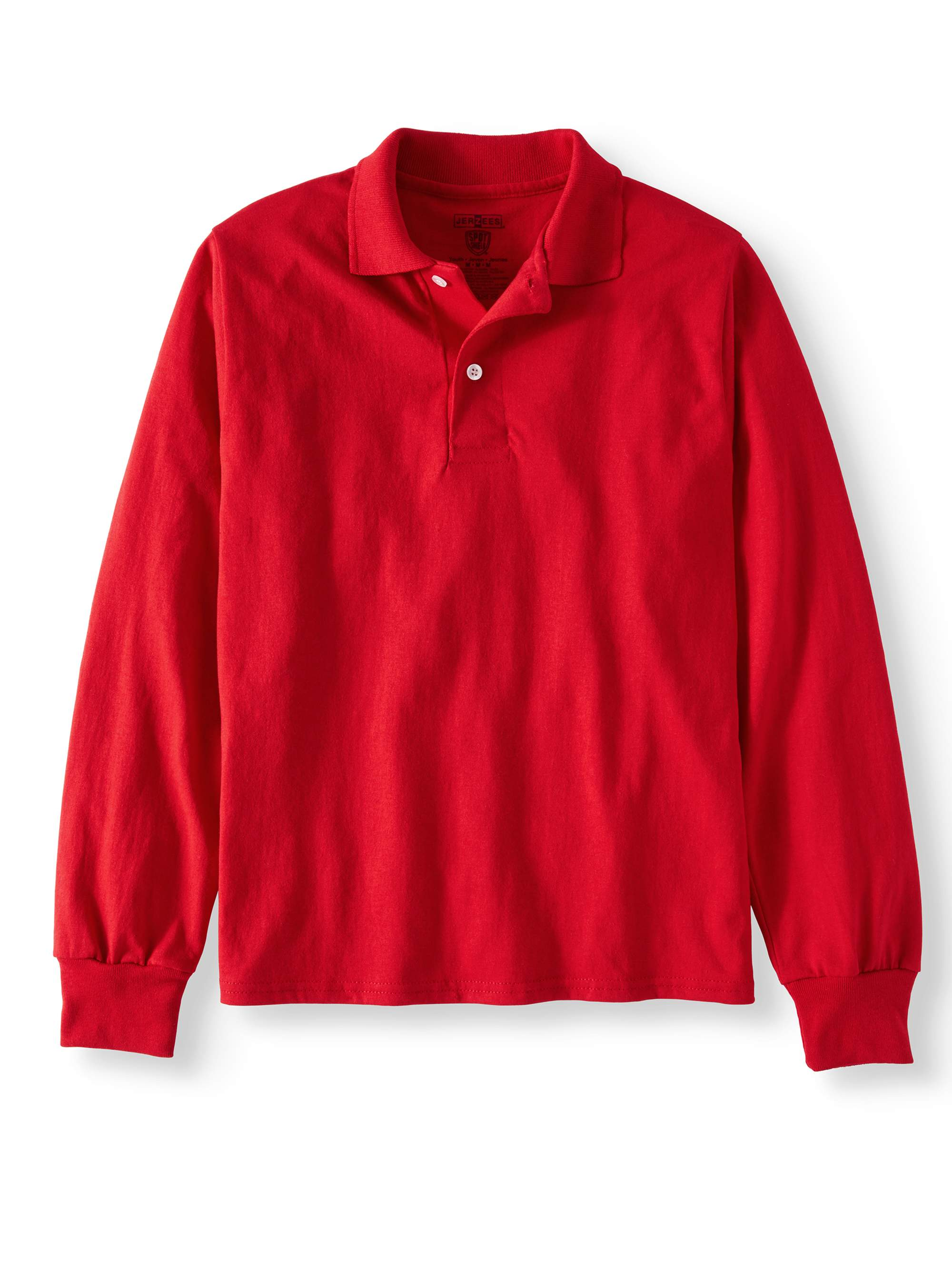 SpotShield Long Sleeve Polo Sport Shirt (Little Boys & Big Boys)