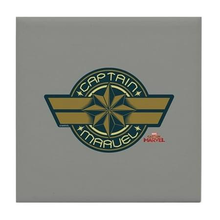 Cafepress Captain Marvel Tile Coaster Drink Coaster