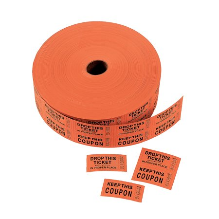 IN-51/43 Orange Coupon Double Roll - Express Coupon