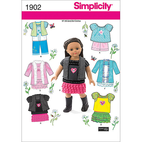 Simplicity Crafts Doll Clothes