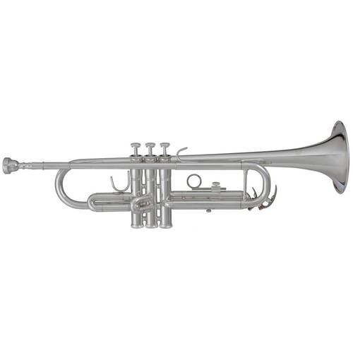 Blessing BRT-1277S Student Bb Trumpet, Silver-Plated by Blessing