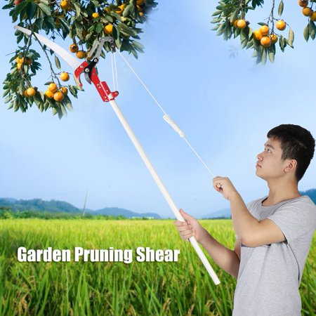 HERCHR 2 Wheels Sharp Garden Pruning Shear Tree Trimmer Clipper Trimming Tool,Garden Pruning Shear, Tree Trimming (Tree Trimming Lifts)