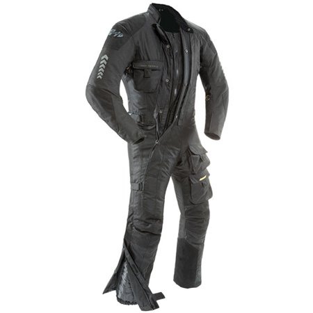 Joe Rocket Survivor Mens Black Textile Riding