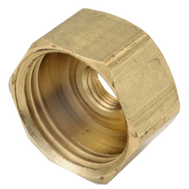 "3/4"" F Garden Hose X 1/8"" F Iron Pipe Brass Adapter, Anderson, 757411-1202"