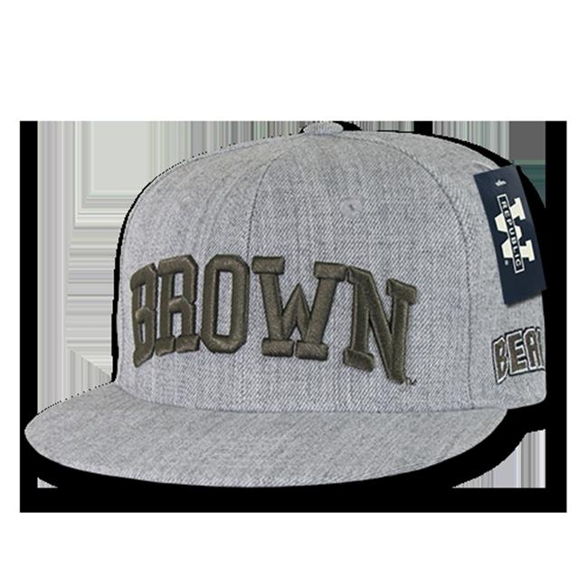 W Republic Game Day Snapback Brown University, Heather Grey