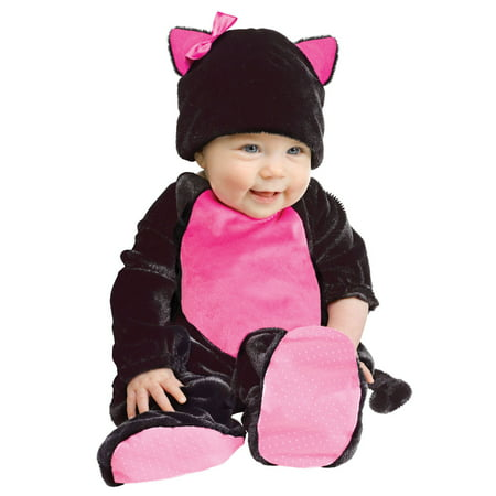 Black Pink Cat Baby Animal Infant Girl Halloween Costume - Toddler Baby Girl Halloween Costumes