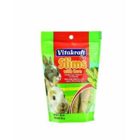 Vitakraft Corn Slims Rabbit Treat, 1.76 Oz