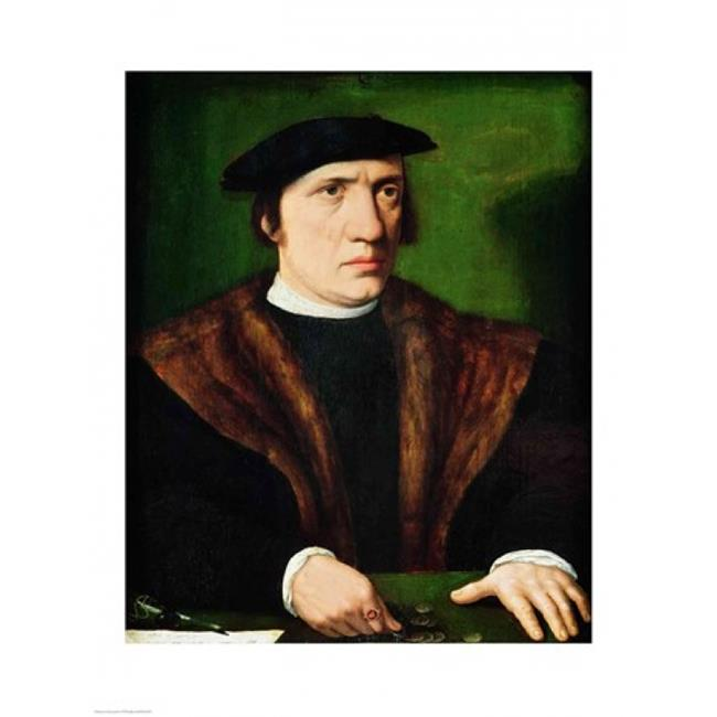 Posterazzi BALXIR212878 Portrait of A Man Poster Print by Hans Holbein - 18 x 24 in. - image 1 of 1