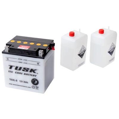Tec-Core Battery with Acid TB30LB for Polaris RANGER 800 XP LE (2012 Polaris Ranger 800 Xp Top Speed)