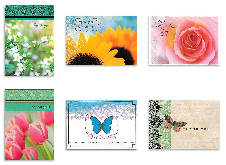 Flower Assortment Notecards set of 6 blank cards