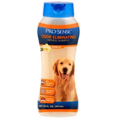 Pro-sense odor eliminating dog shampoo oatmeal vanilla scent, 20-oz bottle