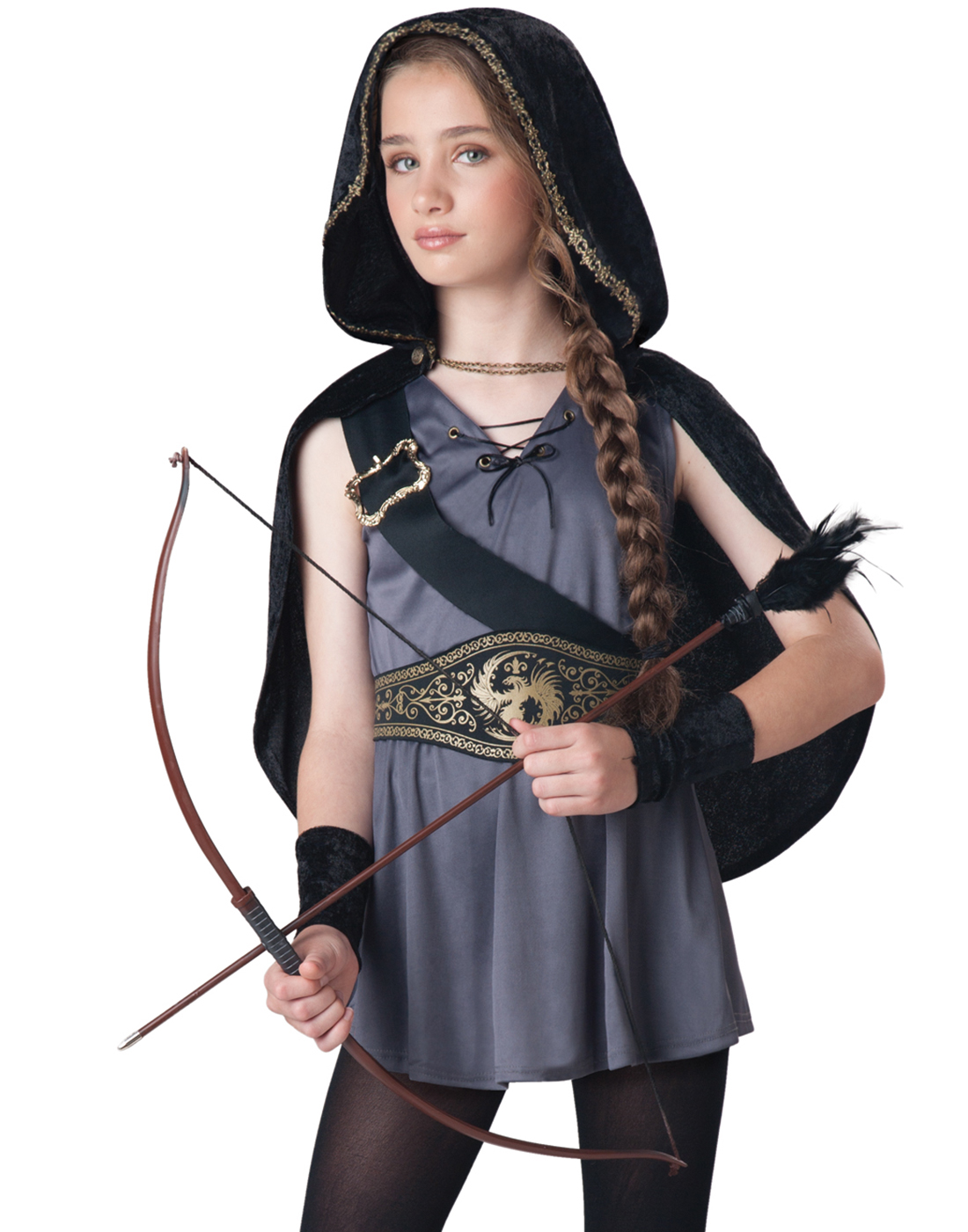 hooded child huntress child halloween costume - walmart